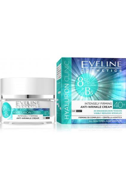 eveline cosmetics hyaluron clinic intenzivne zpevnujici denni a nocni krem 40
