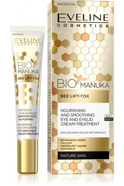 eveline cosmetics bio manuka vyhlazujici ocni krem