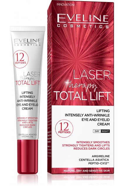 eveline cosmetics laser therapy total lift liftingovy krem na ocni okoli
