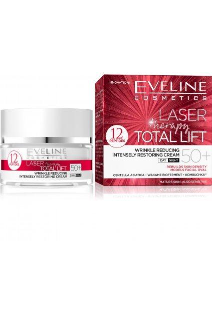 eveline cosmetics laser therapy total lift denni i nocni protivraskovy krem 50