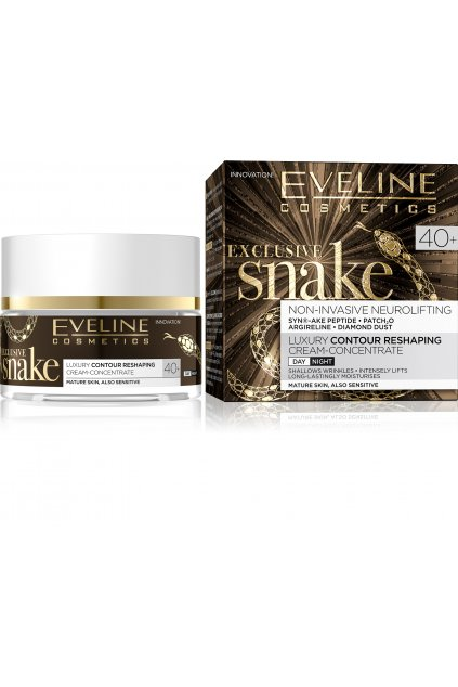 eveline cosmetics exclusive snake luxusni omlazujici krem 40