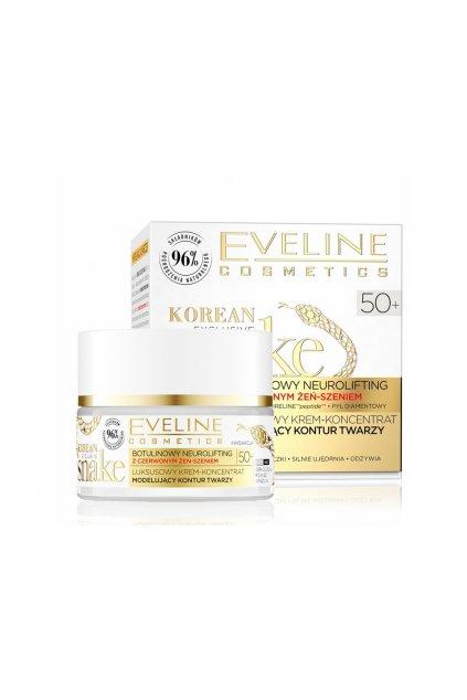 eveline cosmetics exclusive snake luxusni omlazujici krem 50