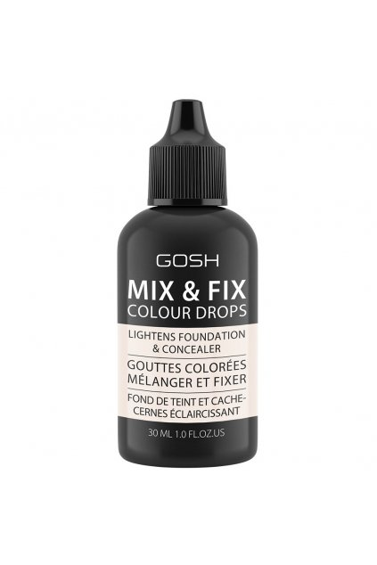 gosh Mix & Fix Colour Drops kapky pro pro zmenu odstinu 001 light 30 ml