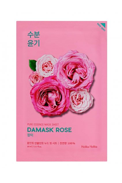 Holika Holika Pure Essence Damsk Rose Mask 1024x1364