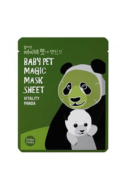 holika holika magic baby pet revitalizacni a rozjasnujici pletova maska