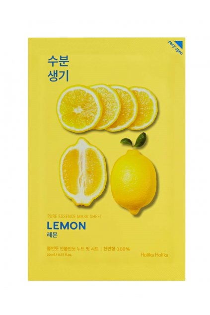 Holika Holika Pure Essence Lemon Mask