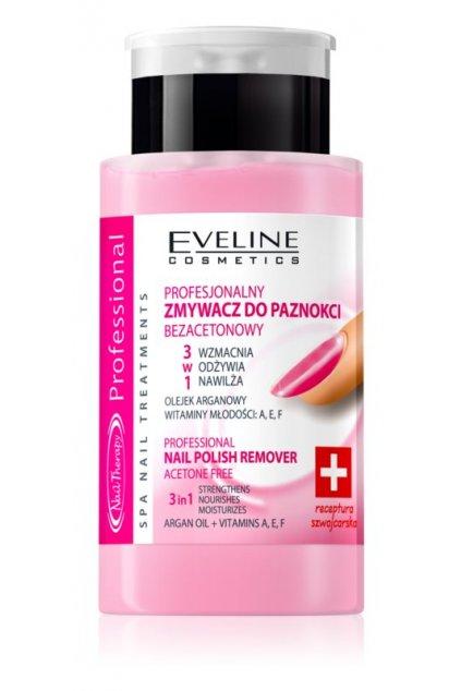 eveline cosmetics professional odlakovac na nehty bez acetonu 19