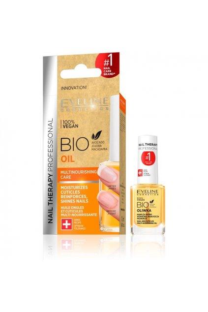 eveline cosmetics SPA Nails Bio oil vyzivny olej na nehty a kuzicku