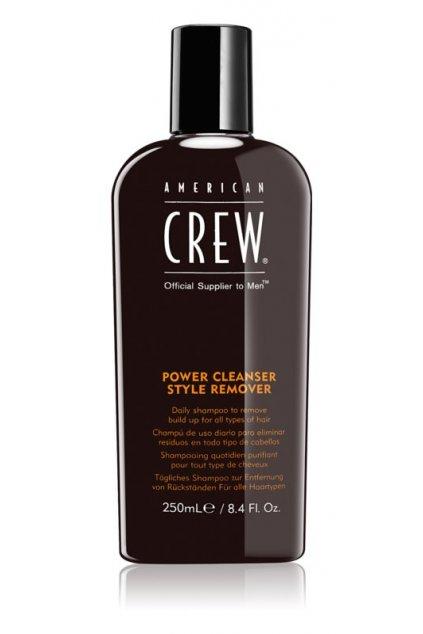 american crew hair body power cleanser style remover cistici sampon pro kazdodenni pouziti 250ml