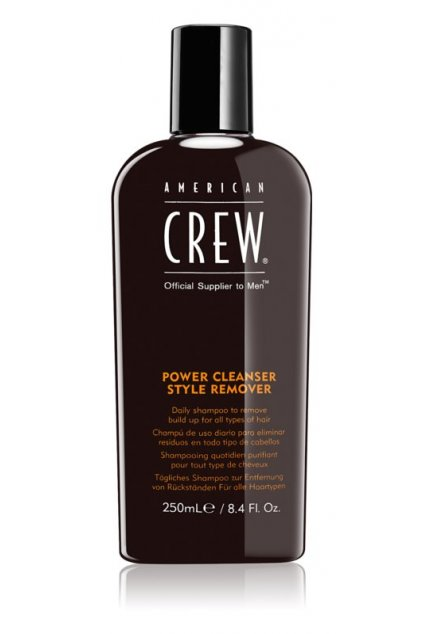 american crew hair body power cleanser style remover cistici sampon pro kazdodenni pouziti 250ml
