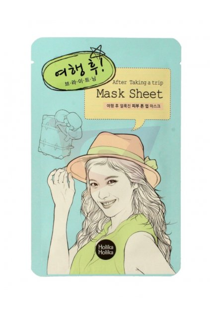 Holika Holika After Taking A Trip Mask Sheet
