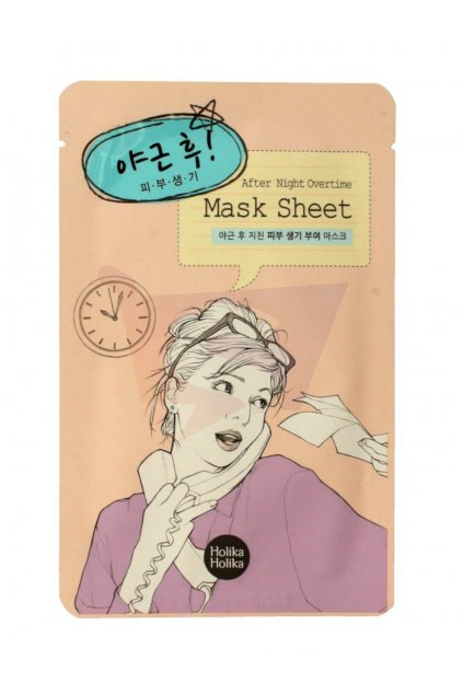 Holika Holika After Night Ovetime Mask Sheet