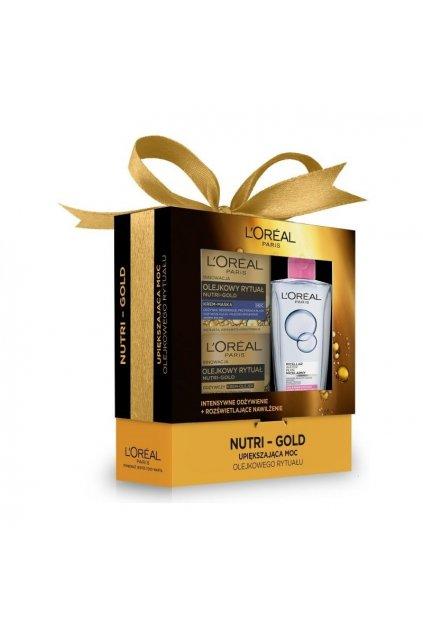 loreal nutri gold denni krem 50ml nutri gold krem maska na noc 50ml micelarni voda 200ml
