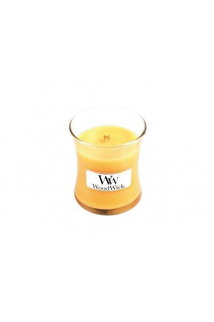 woodwick vonna svicka mala vaza Seaside Mimosa 85 g 1