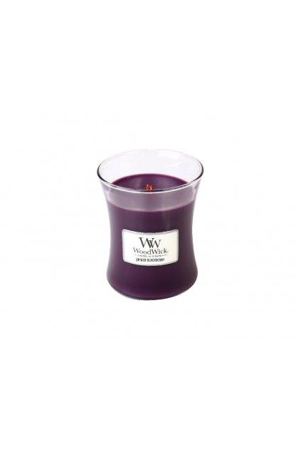woodwick vonna svicka vaza spiced blackberry 275 g