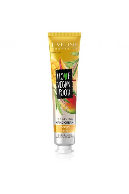 eveline cosmetics I LOVE VEGAN FOOD NOURISHING HAND CREAM MANGOSAGE 50ML