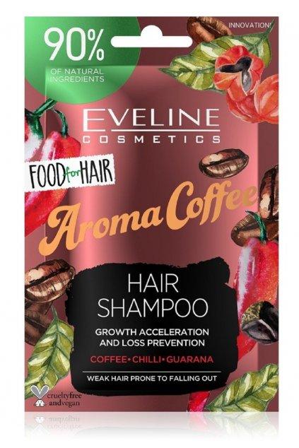 eveline cosmetics food for hair aroma coffee posilujici sampon pro slabe vlasy s tendenci vypadavat 1