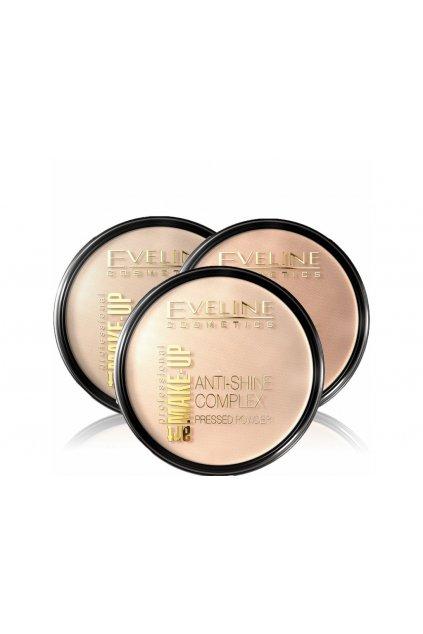 eveline cosmetics tuhy pudr s mineralnimi slozkami