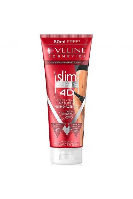 eveline cosmetics slim 4d termoaktivni zestihlujici serum 250 ml