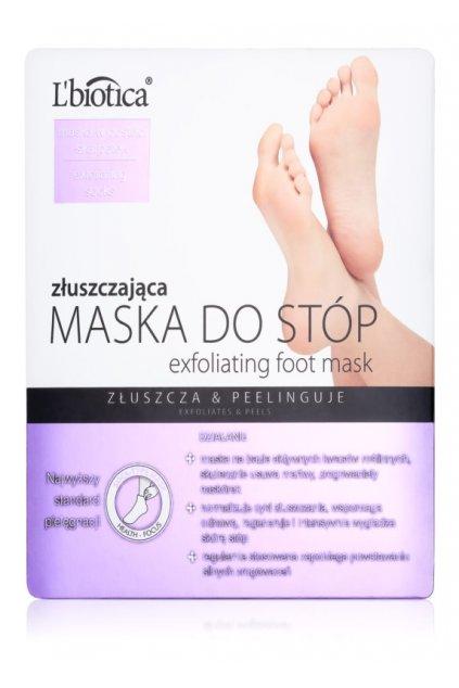 lbiotica masks exfoliacni ponozky pro zjemneni a hydrataci pokozky nohou
