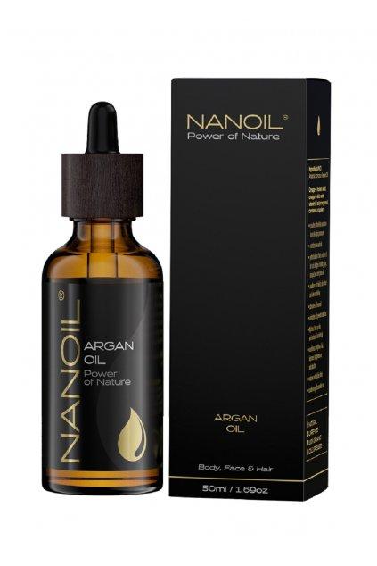 NanoilMINI Argan Oil arganovy olej 50 ml