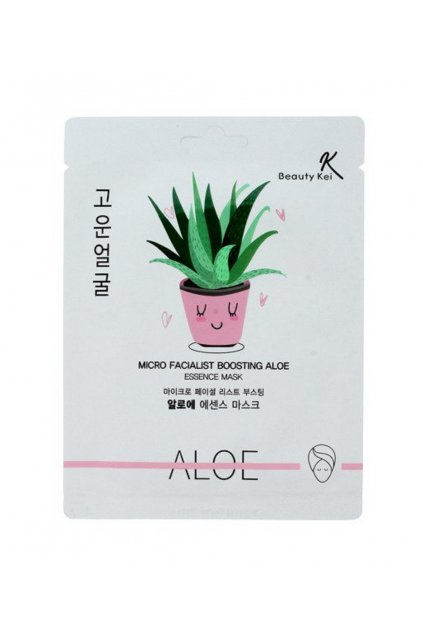 Beauty Kei hydratacni maska s Aloe 1 ks