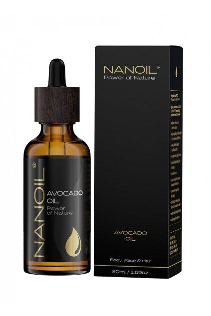 NanoilMINI Avocado Oil avokadovy olej 50 ml