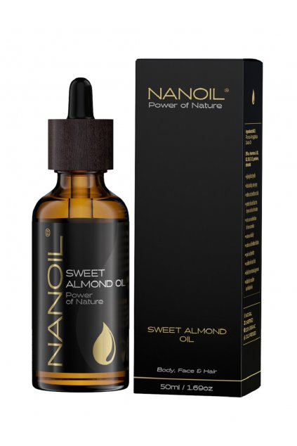 Nanoil Almond Oil mandlovy olej 5905669547178