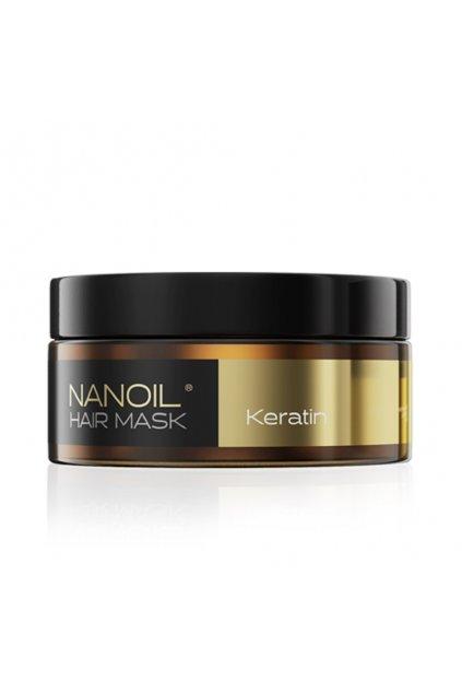 Nanoil KERATIN HAIR MASK maska na vlasy s keratinem 300 ml