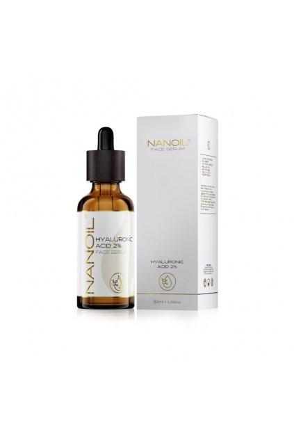 nanoil Hyaluronic faceserum pletove serum s kyselinou hyaluronovou 50 ml