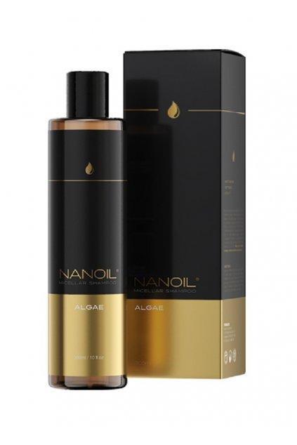 nanoil ALGE 01 SHAMPOO micelarni sampon s morskou rasou 300 ml