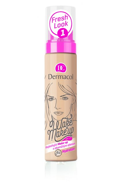 dermacol wake make up rozjasnujici make up s okamzitym ucinkem