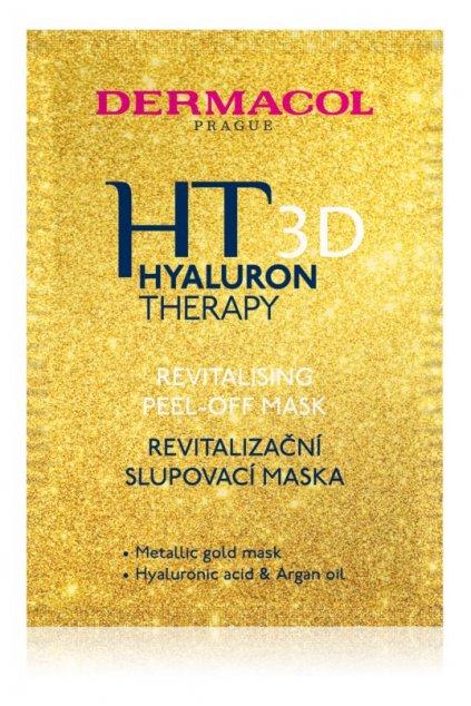 dermacol ht 3d revitalizacni slupovaci pletova maska s kyselinou hyaluronovou