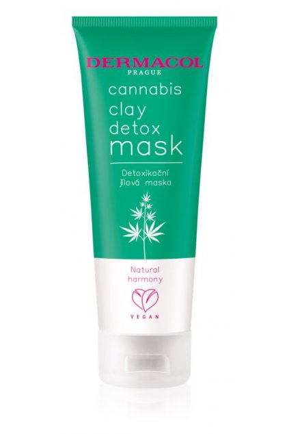 dermacol cannabis detoxikacni maska s jilem