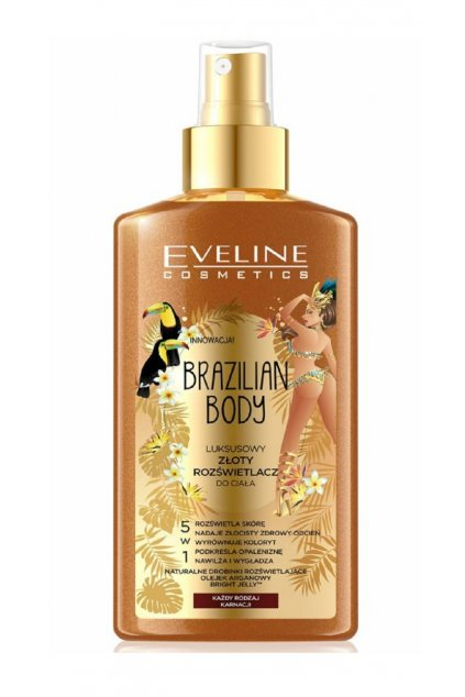 eveline cosmetics brazilian body rozjasnovac na telo 1