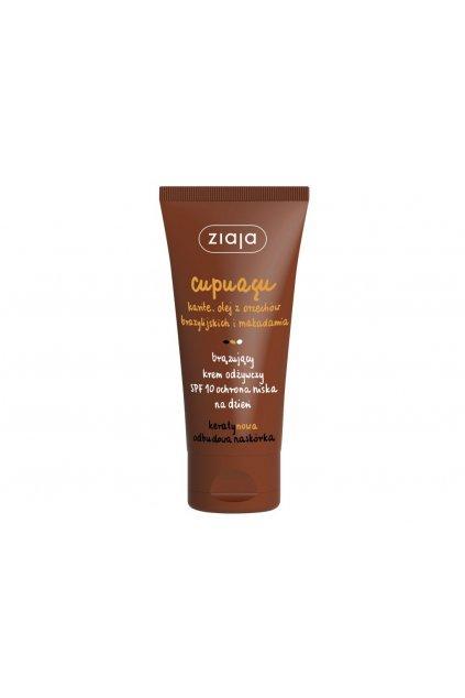 ziaja cupuacu 10 spf bronzing day cream