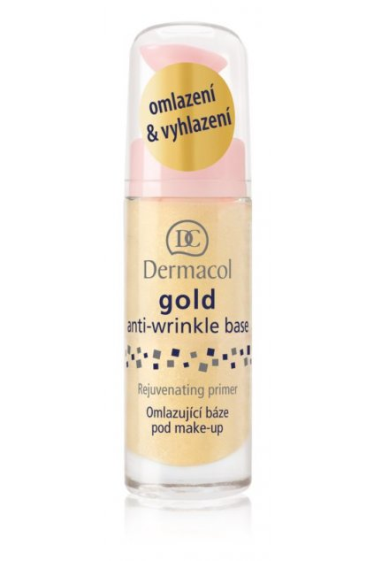 Dermacol Gold Anti-Wrinkle Base (Odstín 20 ml)