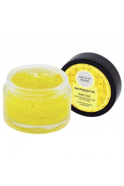 dermacol face lip peeling mango revitalizacni peeling na rty a tvare