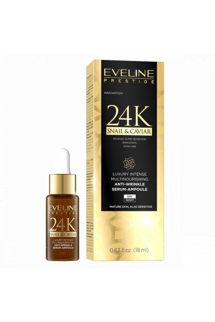 eveline cosmetics prestige 24k snail caviar serum