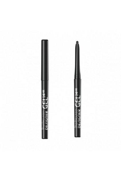 miss sporty studio lash designer gel long lasting gel eye liner zelowy eyeliner do powiek 001 black designer