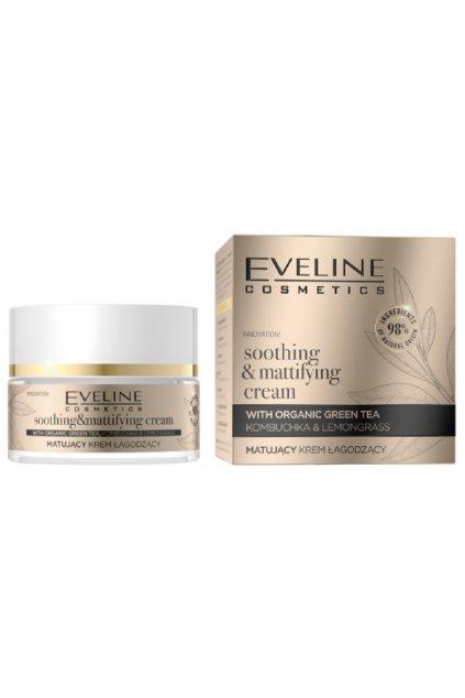 Eveline Cosmetics Organic Gold Soothing & Mattifying Cream 1