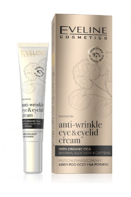 eveline cosmetics ORGANIC GOLD EYE CREAM 20ML