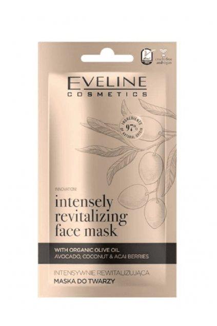 Eveline Cosmetics Organic Gold revitalizing face mask 8 ml