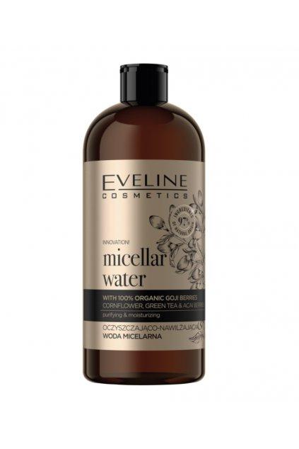 Eveline Cosmetics Organic Gold micellar water 500 ml