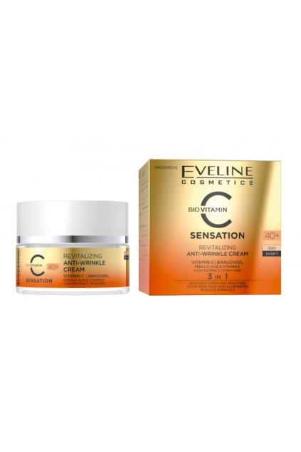 Eveline Cosmetics C sensation Anti Wrinkle Cream 40+