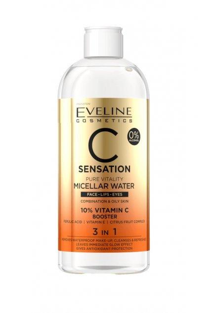 eveline cosmetics c sensation micellar water 500ml 1