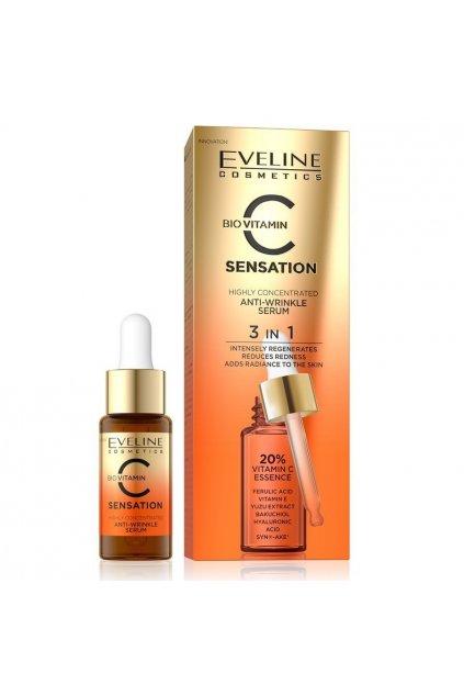 Eveline Cosmetics C sensation Anti Wrinkle serum 18 ml