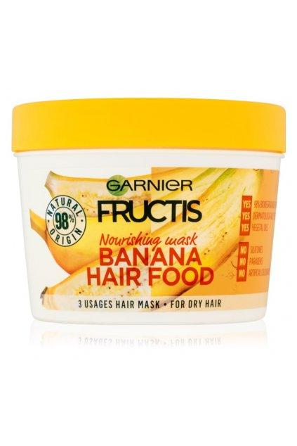 garnier fructis banana hair food vyzivujici maska pro suche vlasy