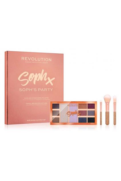 makeup revolution soph x party soph darkova sada pro zeny