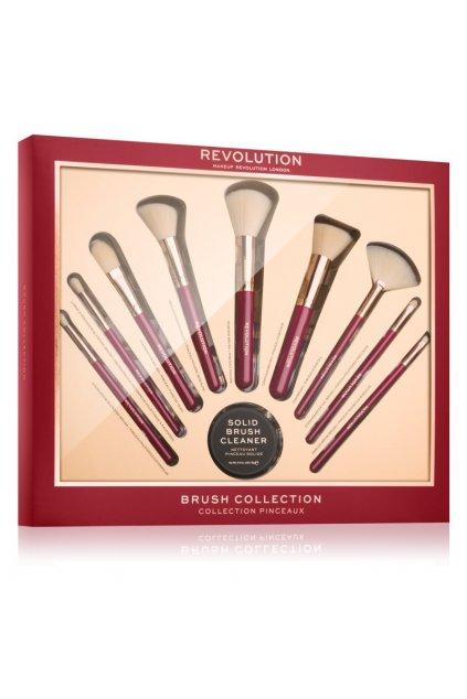 makeup revolution brush collection darkova sada pro zeny 1